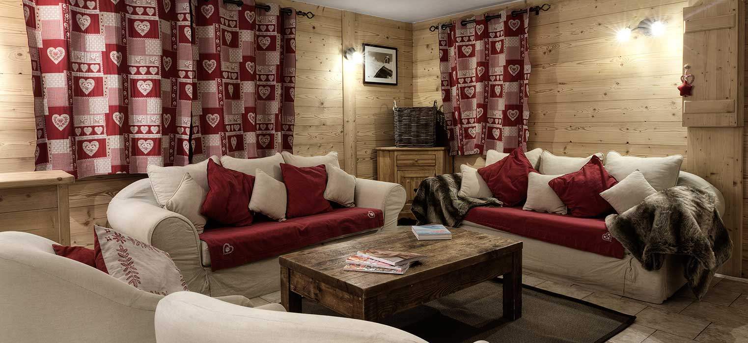 Chalet Blanche Lounge