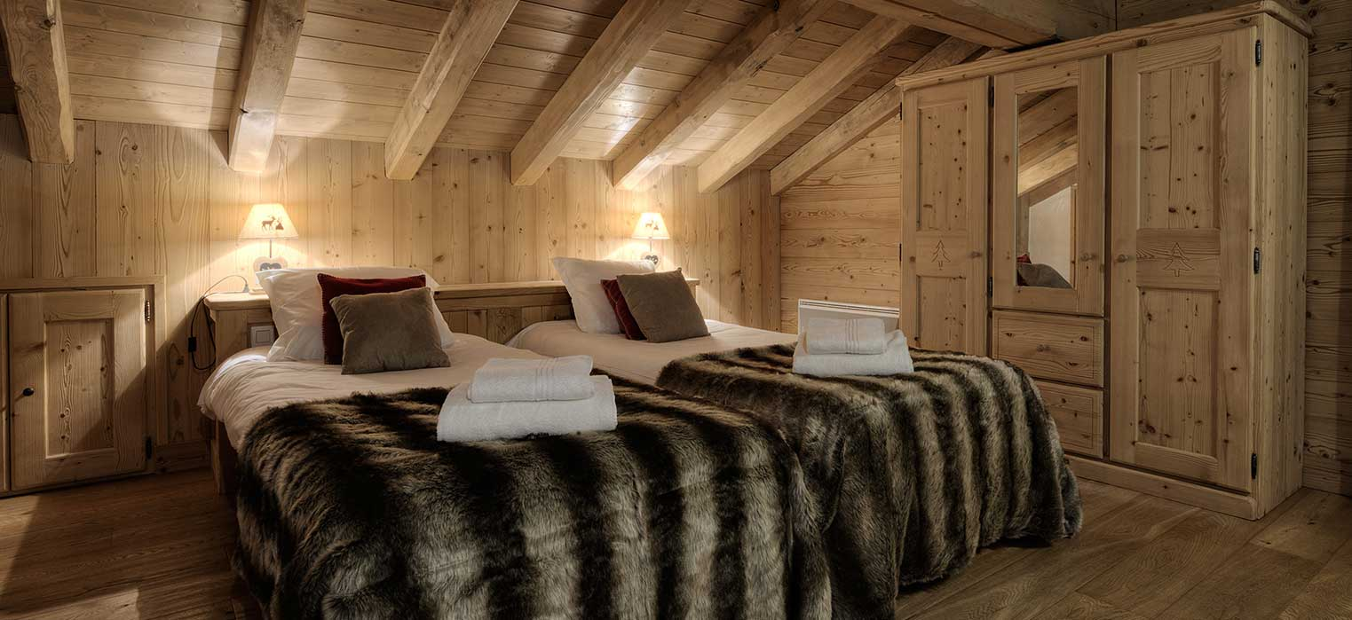 Chalet Blanche Bedroom