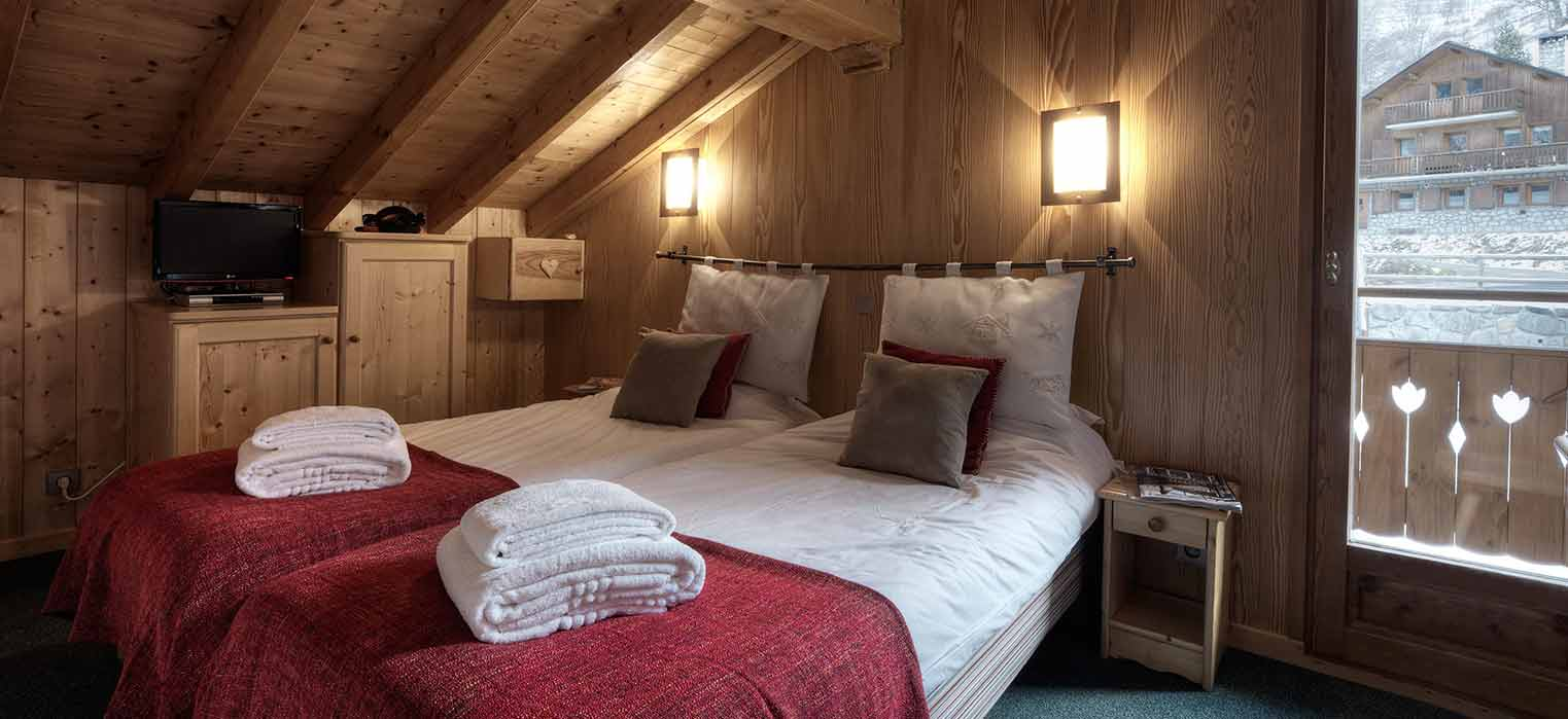Chalet Brenettes Bedroom