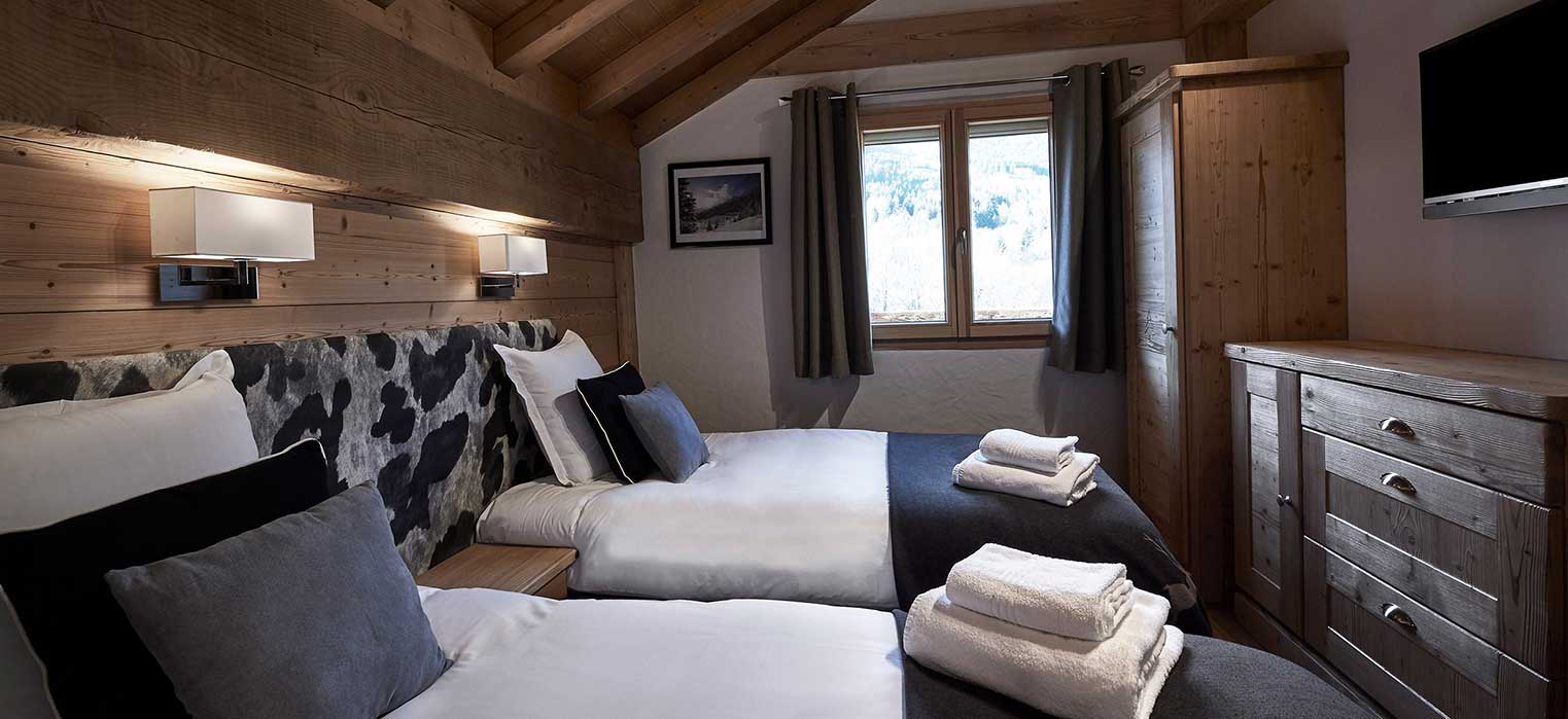 Chalet Chamois Bedroom 3