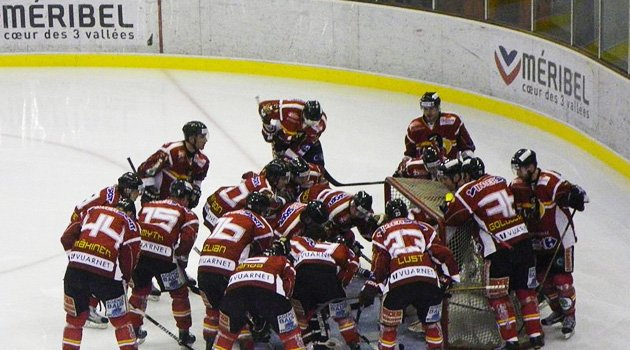 Ice Hockey in Meribel